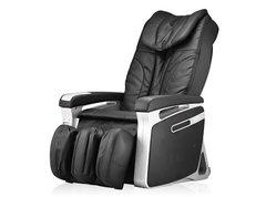 Topkwaliteit shiatsu massage stoelen. Volledig automatische full body massage, van de kuiten t/m de nek. Men kan wel zelf, met een drukknop, bepalen hoe ver de rugleuning achterover gaat, de benen gaan dan automatisch omhoog. €2 voor 5 min.